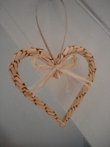 Straw Craft Individual Corn Heart