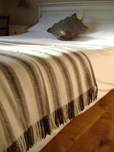 Organic Wool Throw Blanket