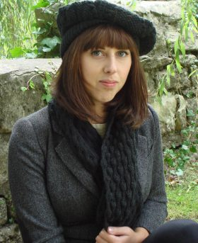 Organic Wool Wendy Keith Glen Maree Beret Black