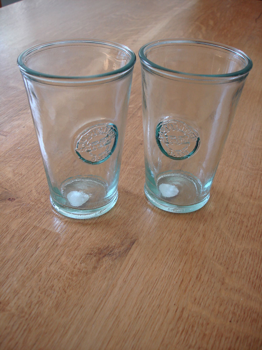 Recycled Authentic Tumbler Glasses Natural Simplicity