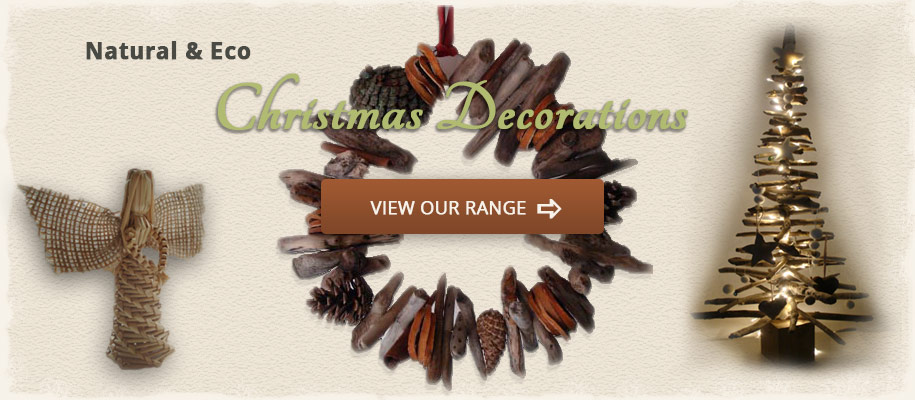 Natural Eco Christmas Decorations